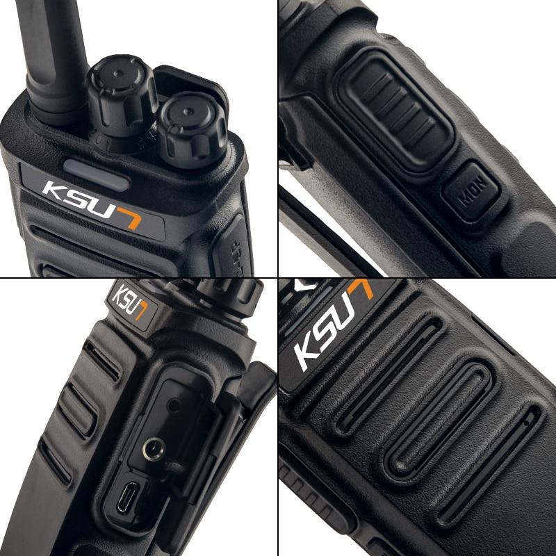 1 Or 2PCS KSUN X20TFSI Mini Two Way Radio Walkie Talkie With VOX Function PMR446MHZ Walkie-Talkie enlarge