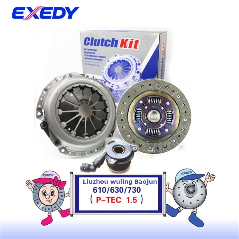 For Wuling  Baojun 610 630 730 P-TEC/L2B 1.5 ORIGINAL  Clutch Disc  Clutch Plate Bearing  Clutch Kit Set Three Pcs Set