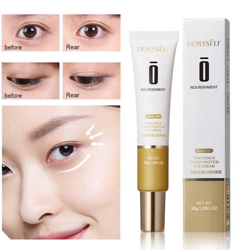 Eye Cream Peptide Yeast Anti-Wrinkle Anti-Age Remove Dark Circles Eye Care Against Puffiness And Bags Hydrate Eye Cream TXTB1 недорого