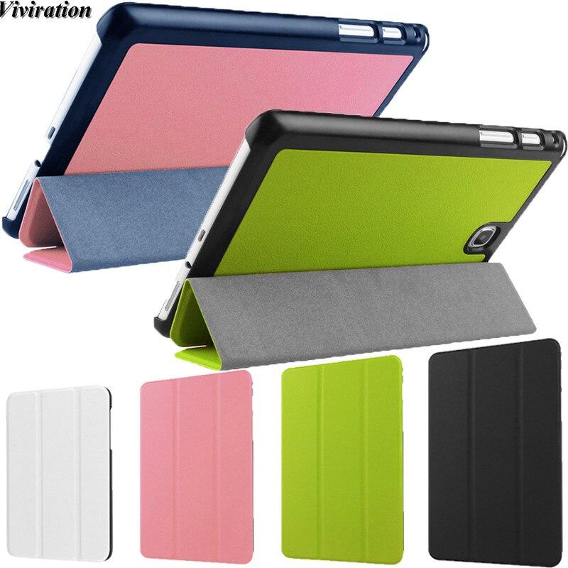 Soporte Auto inteligente Fanda Netbook accesorios para Samsung SM-T350 SM-T355 P350 P355 Galaxy Tab 8,0 T350 T355 Tablet PC caso