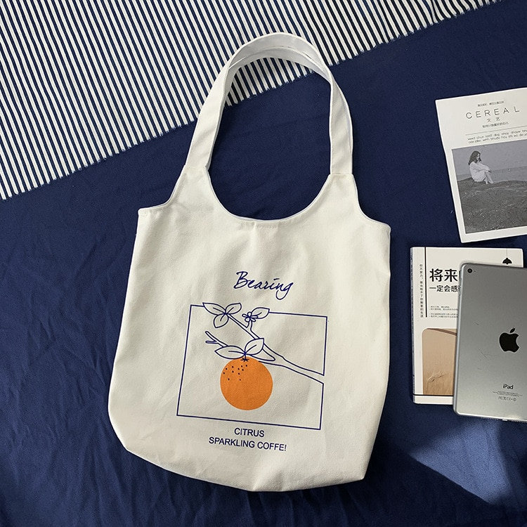 Bolso grande de hombro de lona para mujer, bolso de compras de tela de algodón, bolso de mano para mujer, bolso de compras de playa reutilizable plegable