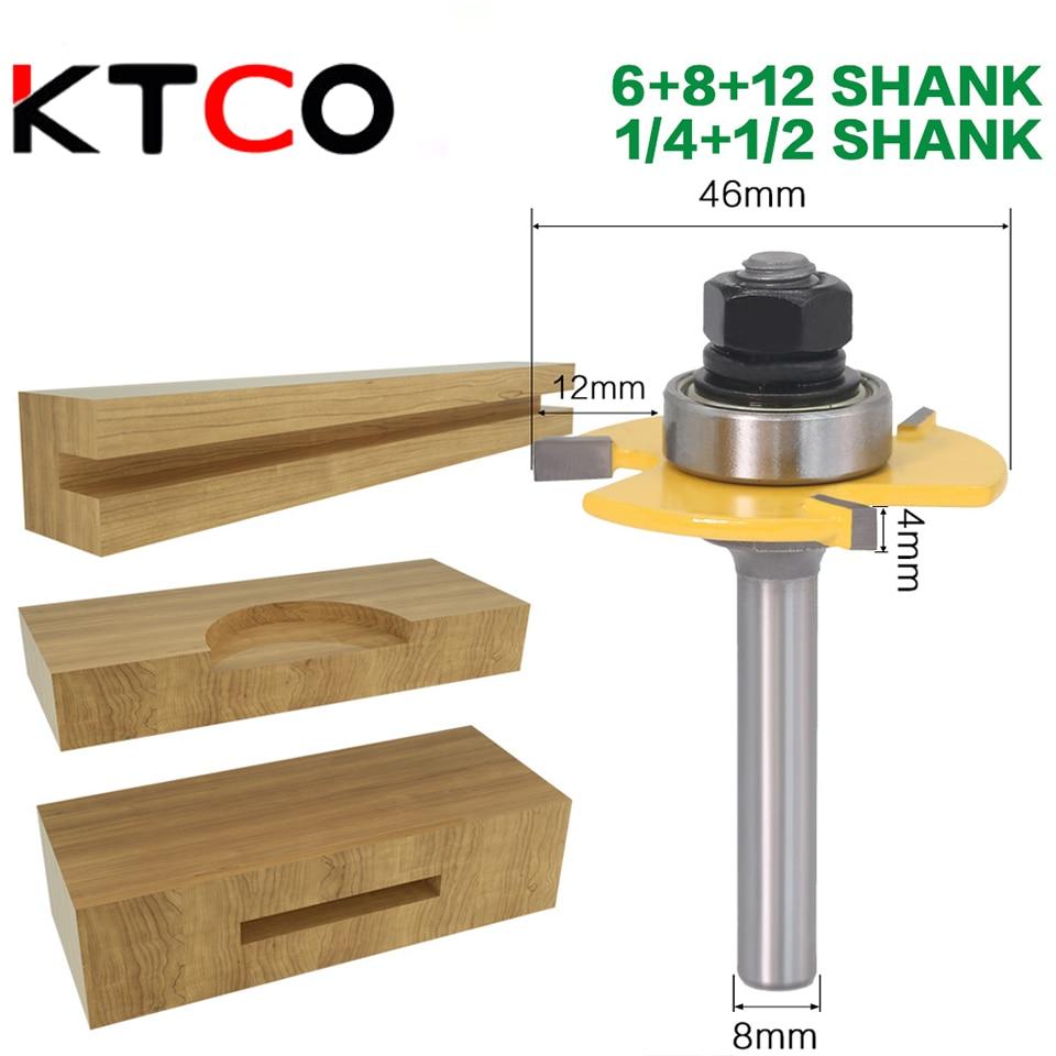 KTCO 3-зуб Т-Ножи 4 мм, просечки пазов и Ножи деревообрабатывающий Т-образная шип Ножи