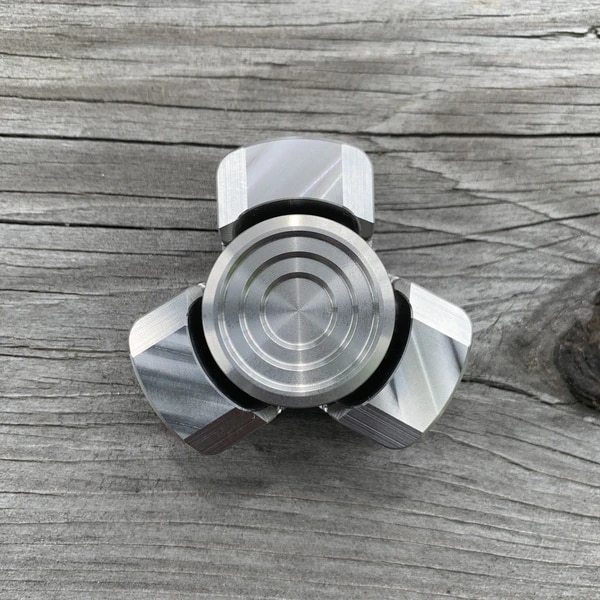 New Fingertip Gyro Replica Er'go Mini Two-Page Three-Page Rotating Decompression Artifact Trendy Toy enlarge