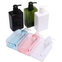 Distributeur Portable de savon a pompe de voyage de 280ml 1PC  salle de bains evier de douche Gel shampoing Lotion liquide pompe a savon pour les mains bouteille conteneur