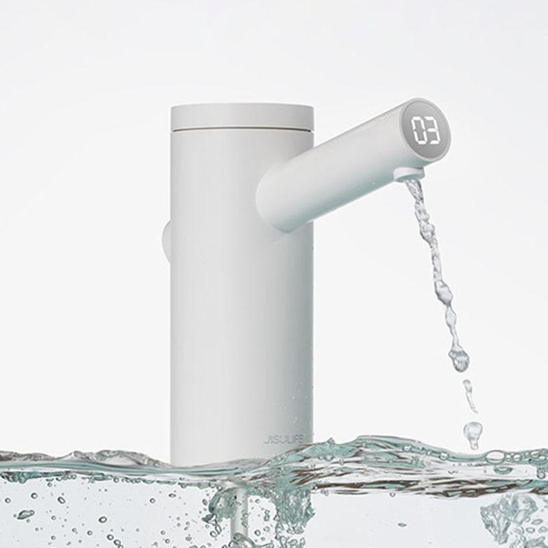 Kbxsatart-موزع مياه ذكي ، مضخة زجاجة كهربائية ، USB ، دلو كمي ، اختبار TDS ، 1800 مللي أمبير
