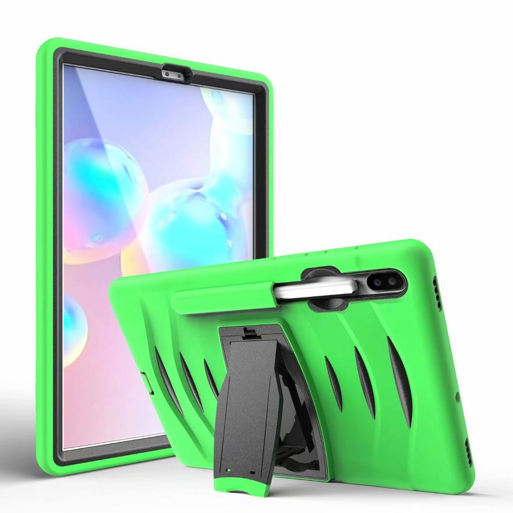 For  Samsung Tab S6 10.5 SM-T860 SM-T865 SM-T867 2019 Heavy Duty Hand Shoulder Strap Shockproof Protective Cover