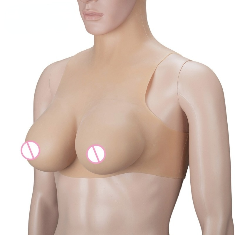 2200g Realistic Silicone Shaped Fake Breasts Suitable for Shemale Cross-dressers Fake Breasts Cross-dressing Queens Transgender