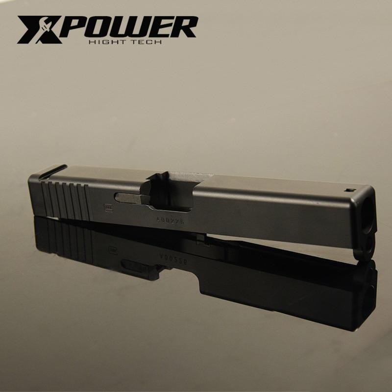 XPOWER deslizante de Metal para G17/P1 CNC Gel Blaster accesorios integrado Paintball juego de guerra Airsoft deportes al aire libre