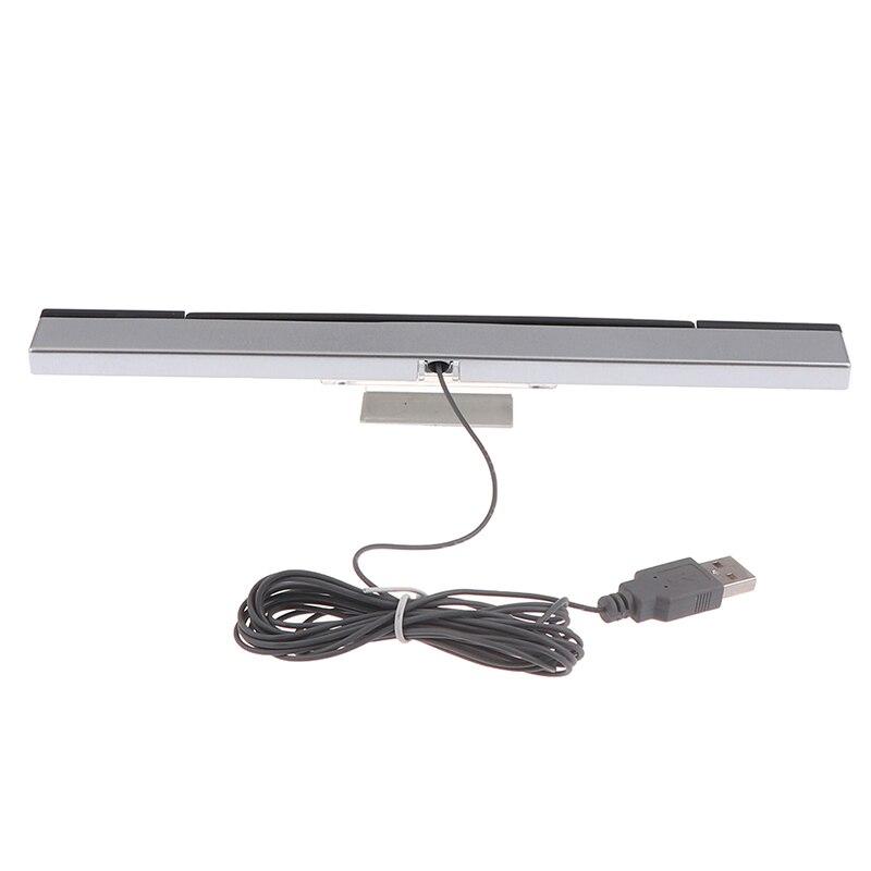 Accesorios de juego/Barra de Sensor Wii, receptores con cable, señal IR, Rayo,...