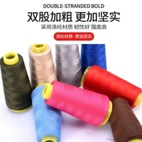 free shipping double stranged bold sewing machine thread household sewing manual thread 1300mroll