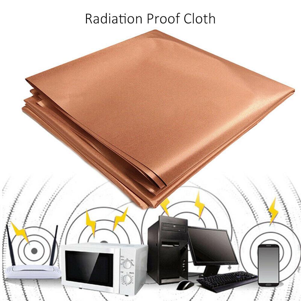 1 шт. защита от излучения размагничивание подкладка ткань Блокировка RFID защита сигнала ткань анти-вор антистатическая ткань