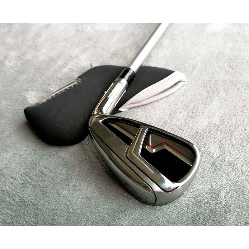 6 Series Golf Clubs, No.7 Irons, Beginner Practice Clubs, Single with Logo