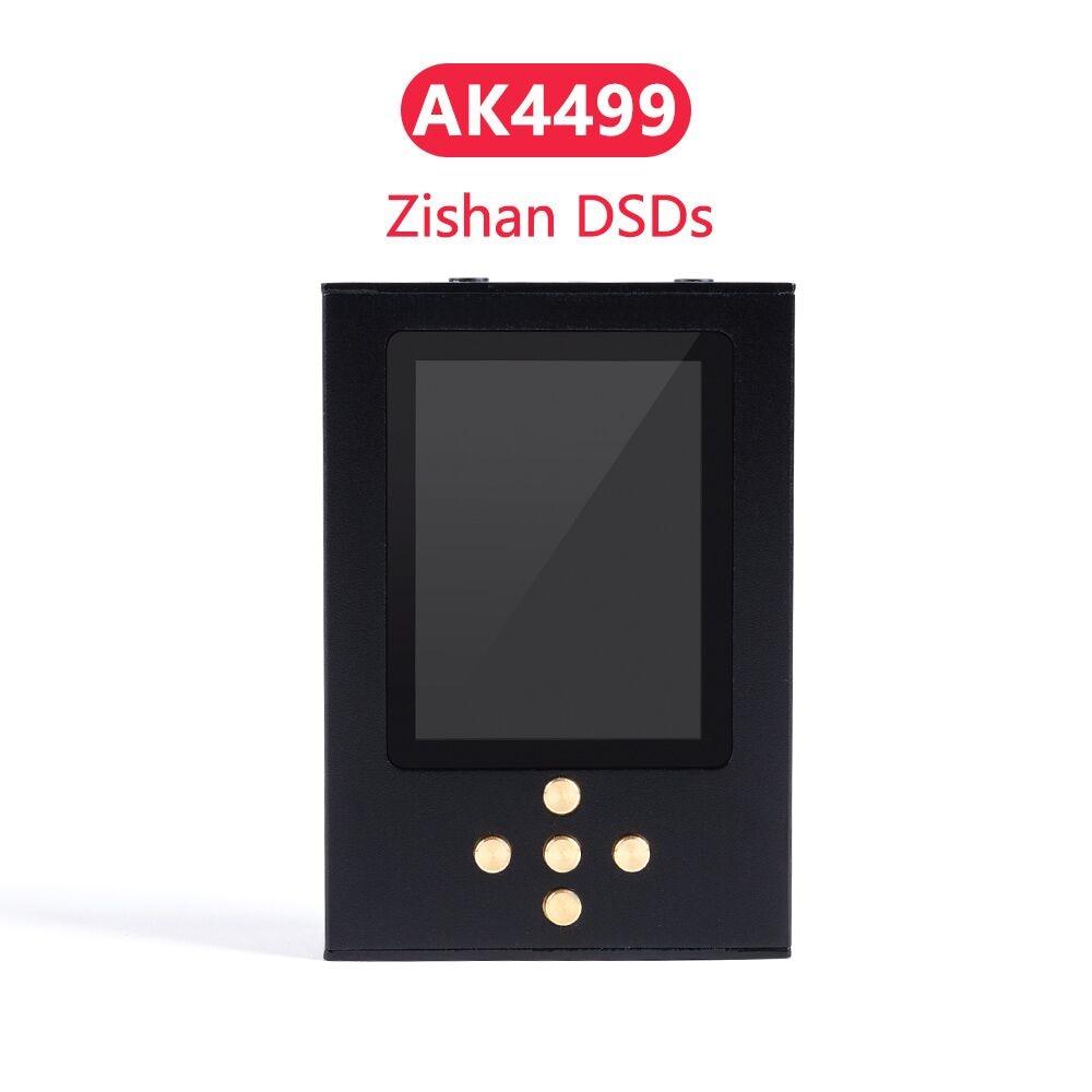Новый Zishan DSDs AK4499 Профессиональный музыкальный плеер MP3 DAP AD8620 MUSES02 HIFI портативный плеер 2,5 мм сбалансированный AK4499EQ 4499
