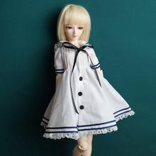 "BJD White Long Dress Skirt Outfits Clothing Coat For  1/4 1/3 24"" Tall Female BJD doll  MSD SD13 DK DZ AOD DD Doll Wear"