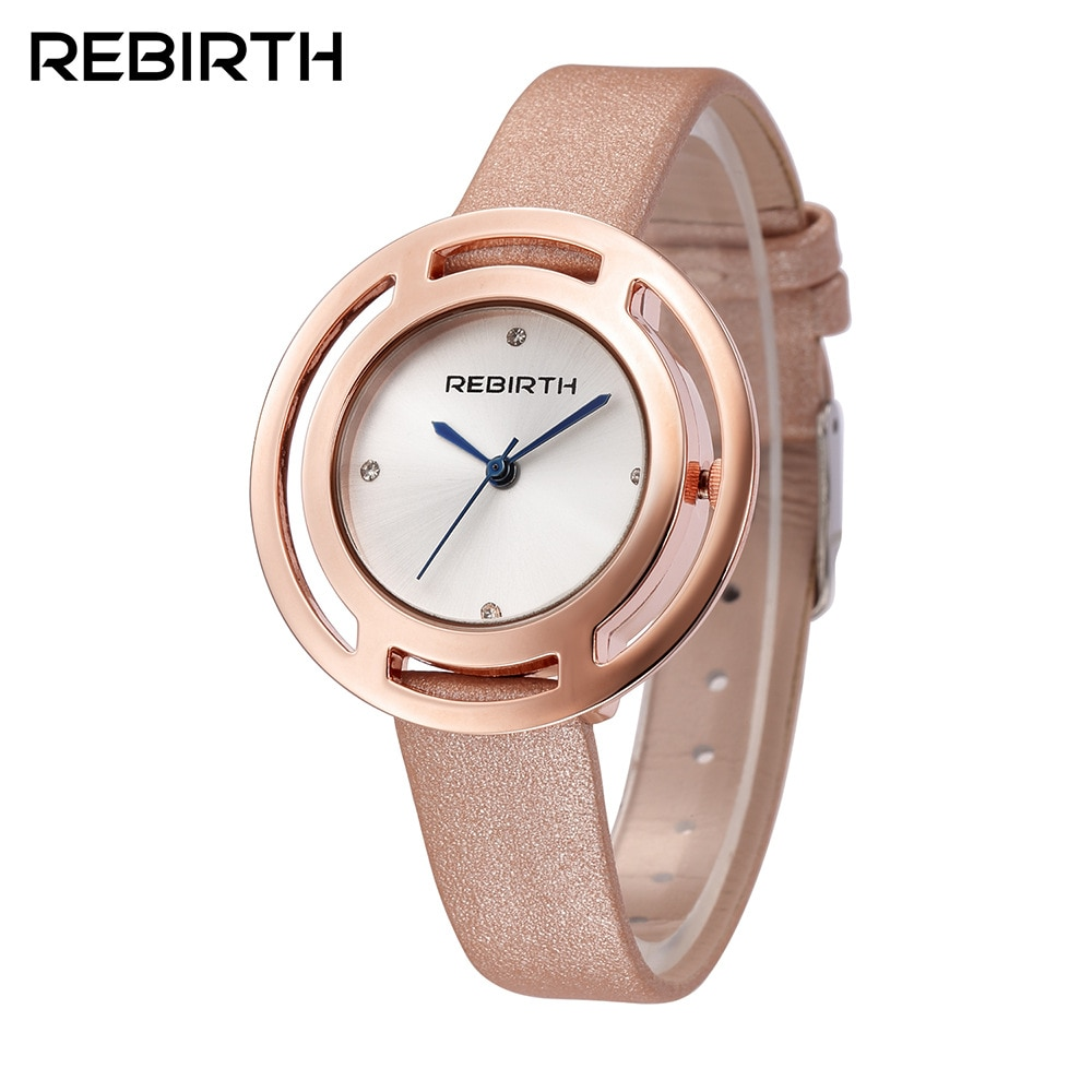 Anke Store Factory Direct Original Design Stainless Steel Pointer Round Fashion Casual Gift Quartz Women Watches Reloj Mujer enlarge