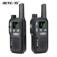 Retevis RB618/RB18 اسلكية تخاطب 2 قطعة المزدوج PTT PMR راديو PMR 446 VOX عرض عرض FRS اتجاهين جهاز الإرسال والاستقبال اللاسلكي لاسلكي