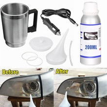 Kit di riparazione per restauro fari polimero liquido lucidatura chimica i fari Kit di restauro fari per auto lucidatura a vapore