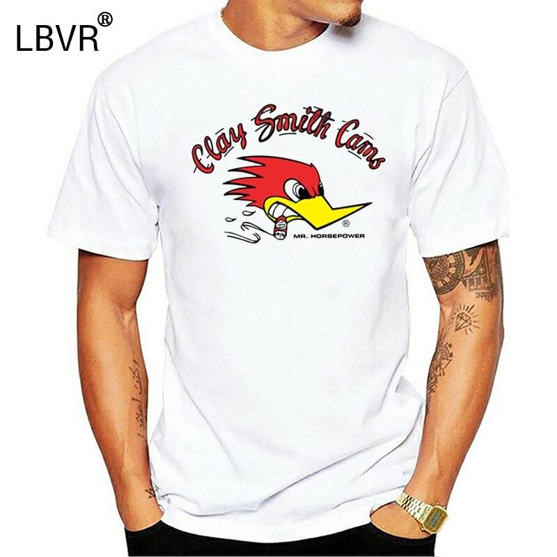 100% algodão o-pescoço t-shirt impresso personalizado Clássico Mr Cavalos de Potência do carro Argila Smith Cams mulheres tshirts
