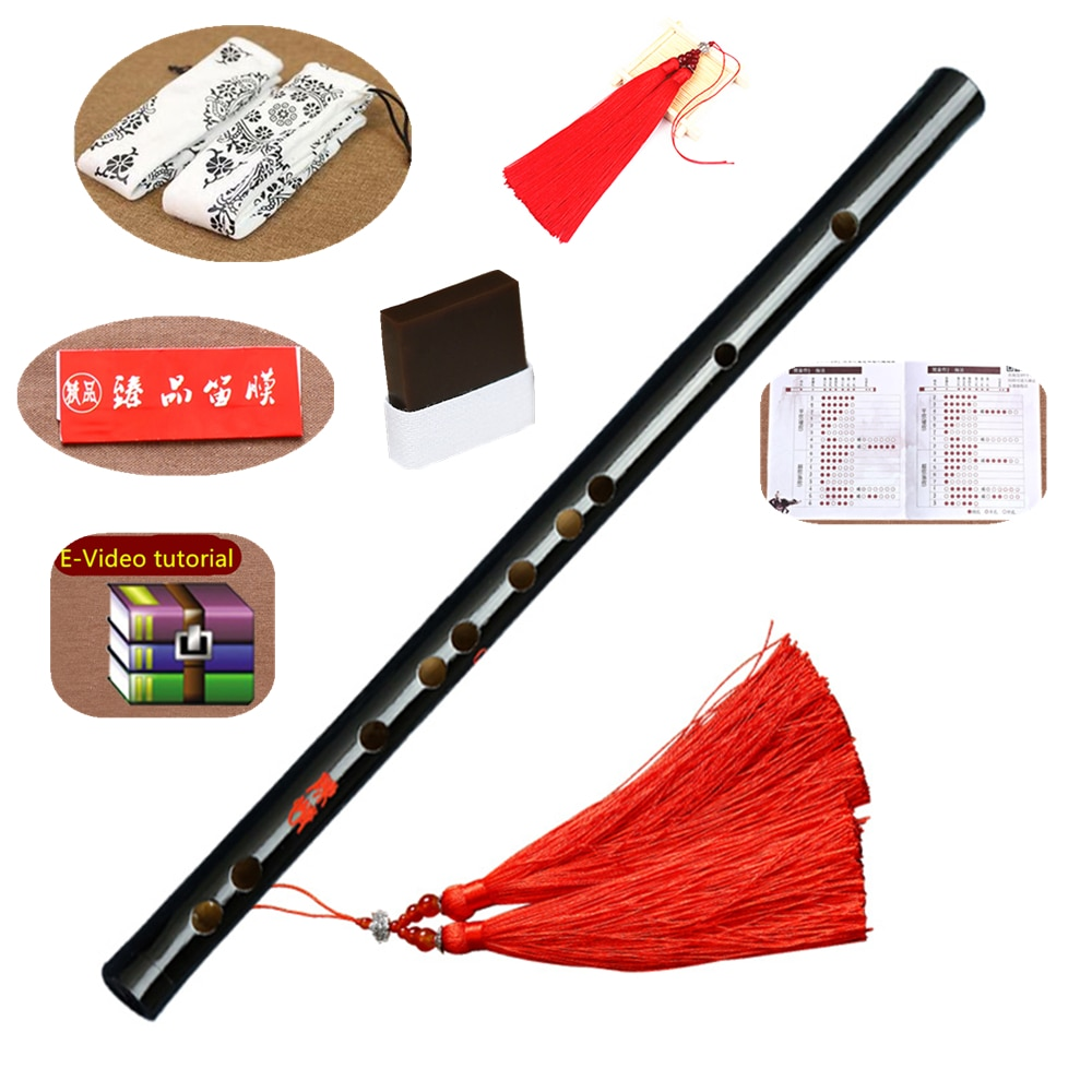High Quality Chinese Flute Traditional Musical Instruments Bamboo Dizi For Beginner C D E F G Key Chen Qing Transverse Flauta недорого