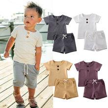 AU Stock Casual Newborn Kids Baby Boy 0-24M Tops T-shirt Pants Leggings Outfit Clothes