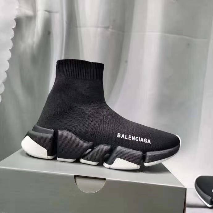 2021 New Original Balenciaga- Speed Trainer Sneakers Men Women Black Red Casual Shoes Fashion mens womens sports Sneakers 00