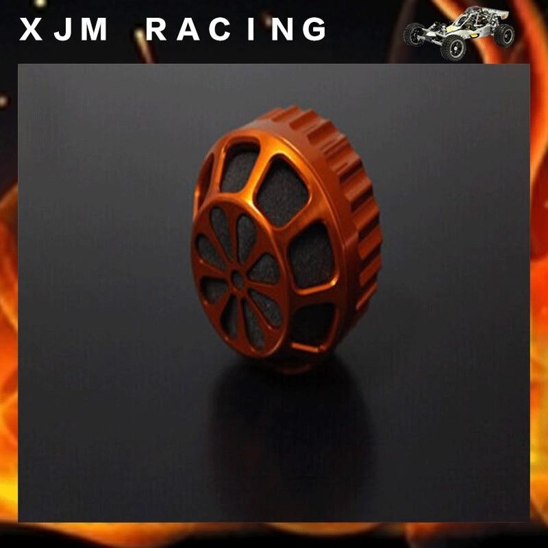 CNC METAL High Cooling Air Filter for 1/5 Hpi Rovan Kingmotor Mcd Gtb Racing Baja 5b 5t 5sc Ss Truck Rc Car Parts