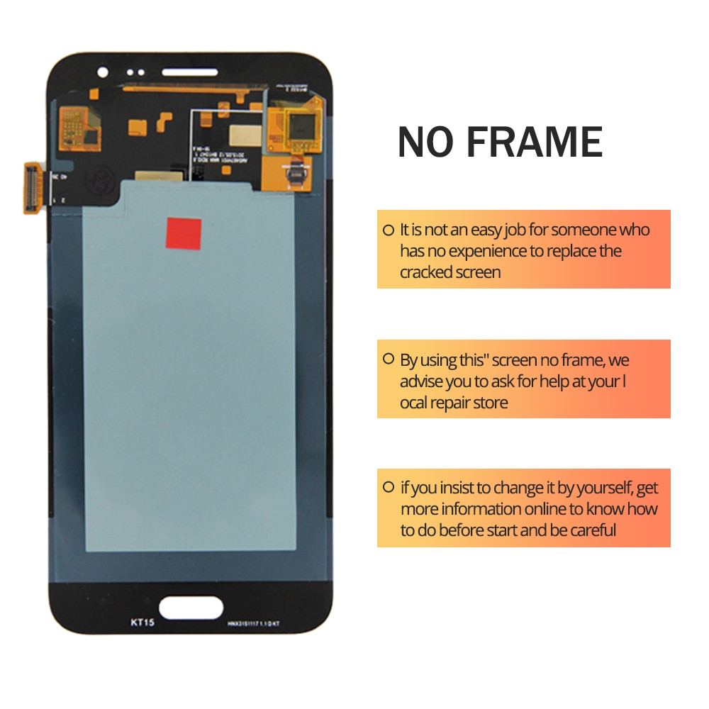 For Samsung Galaxy J3 2016 OLED LCD Display Touch Screen Digitizer Assembly On SM J320F J320H J 3 2016 320F Sm-J320F 100% Test enlarge