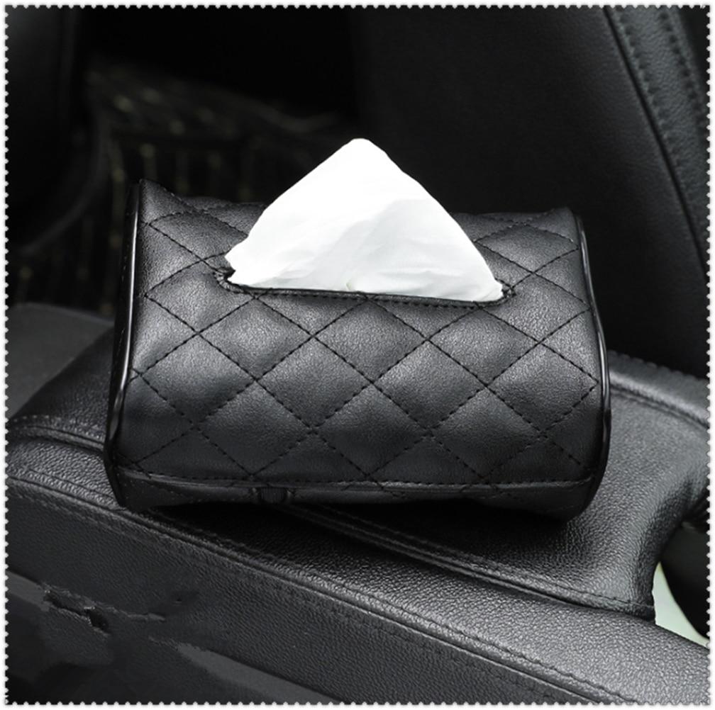 Car Accessories sunshade seat back hanging tissue box for Mercedes Benz C43 C-Class F015 B-Class E53 C63