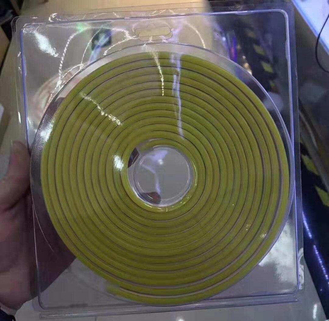 100M/lot 6*12MM 8*16MM LED Lighting Flex LED Neon Light SMD 2835 120leds/M LED Strip rope Light Waterproof IP68 DC12V