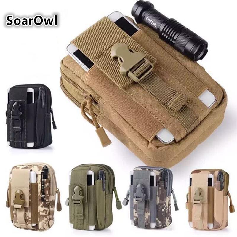 Bolsa táctica Molle, cinturón, riñonera, abanico militar, riñonera pequeña, bolso militar para correr, bolsa de viaje para acampar, mochila suave