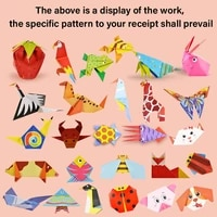 cartoon animal book toy kids diy paper art baby early learning education toys gifts montessori toys 3d diy child toy origami