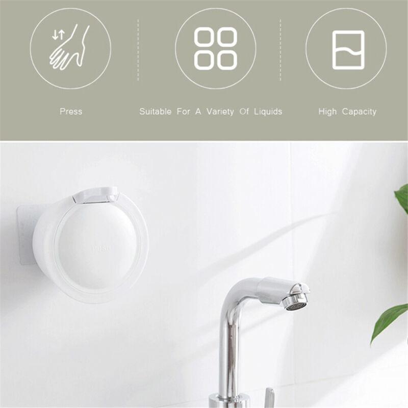 350 ML Wall-mounted Soap Dispenser Bathroom Hand Soap Shampoo Shower Gel Liquid Dispenser Shower Soap Bottlep enlarge