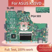 K55VD REV. 3,1 Für ASUS K55A A55V K55VD K55V K55 HM75 Unterstützung I7 Notebook Mainboard SLJ8E DDR3 Laptop Motherboard