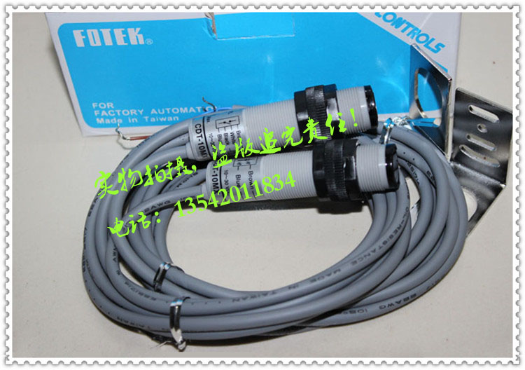 المستوردة تايوان يانغمينغ الكهروضوئية التبديل FOTEK CDT-10MX اطلاق النار نوع الكهروضوئية التبديل CDT-10MX