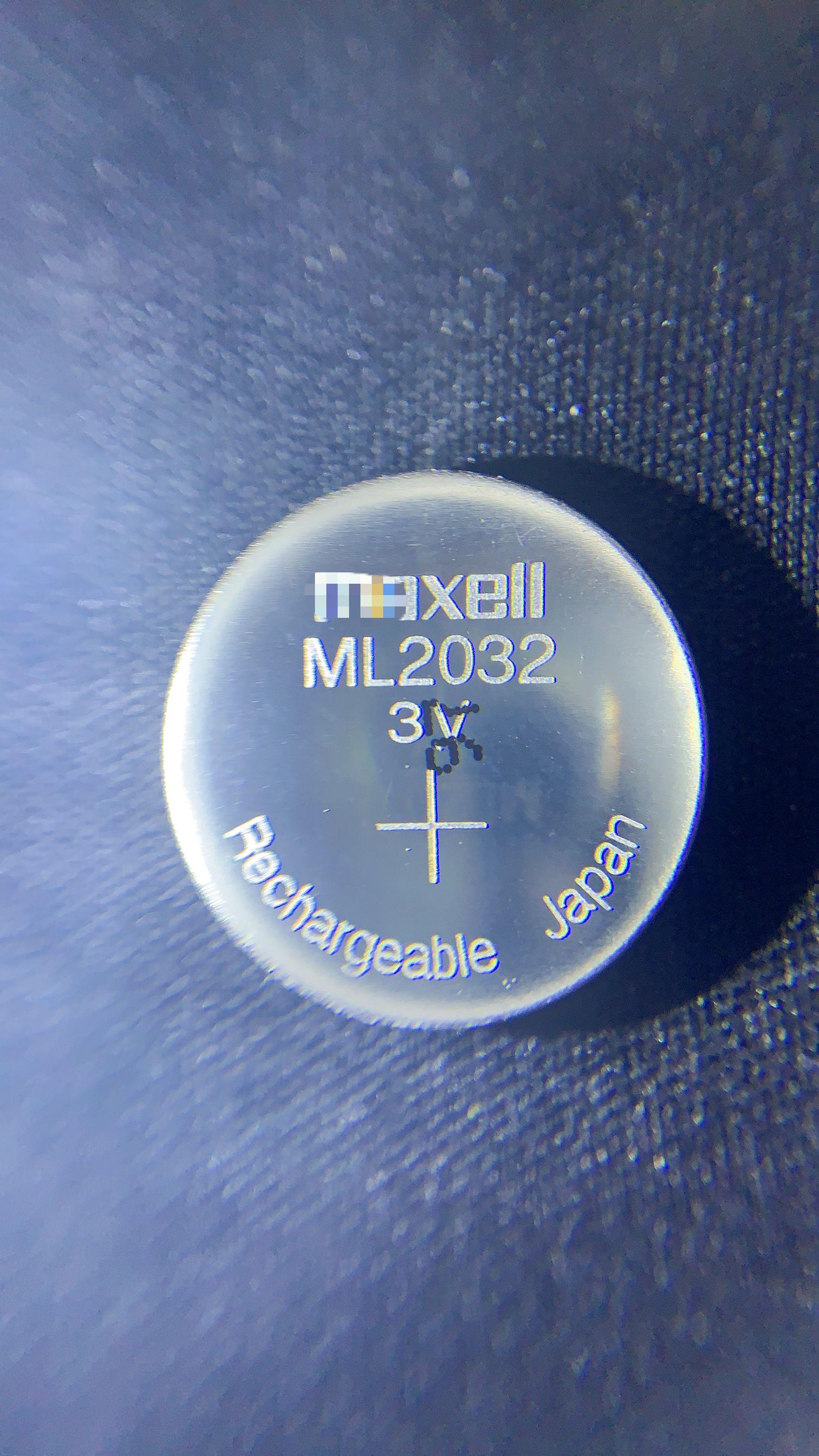 2 ~ 10 قطعة/الوحدة جديد الأصلي ماكسيل ml2032 3 v ricaricabile ديلي cellule ديل tasto batteria al litio بطاريات a bottone (ml2032)
