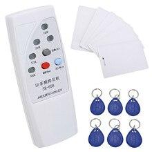 SK-658 13Pcs Handheld 125KHz RFID ID Card Reader Writer Copier Duplicator Programmer + 6 Pcs Cards+6 Pcs Tags