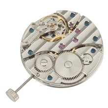Mechanical Hand Winding 6497 St36 Watch Movement P29 44Mm Stainless Steel Watch Case Fit 6497/6498 S