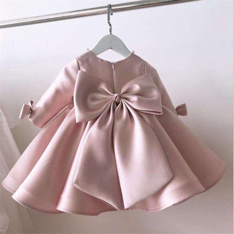 فستان أميرة من الدانتيل للبنات ، فستان حفلات الزفاف ، عيد الميلاد الأول ، فستان تول للفتيات الصغيرات