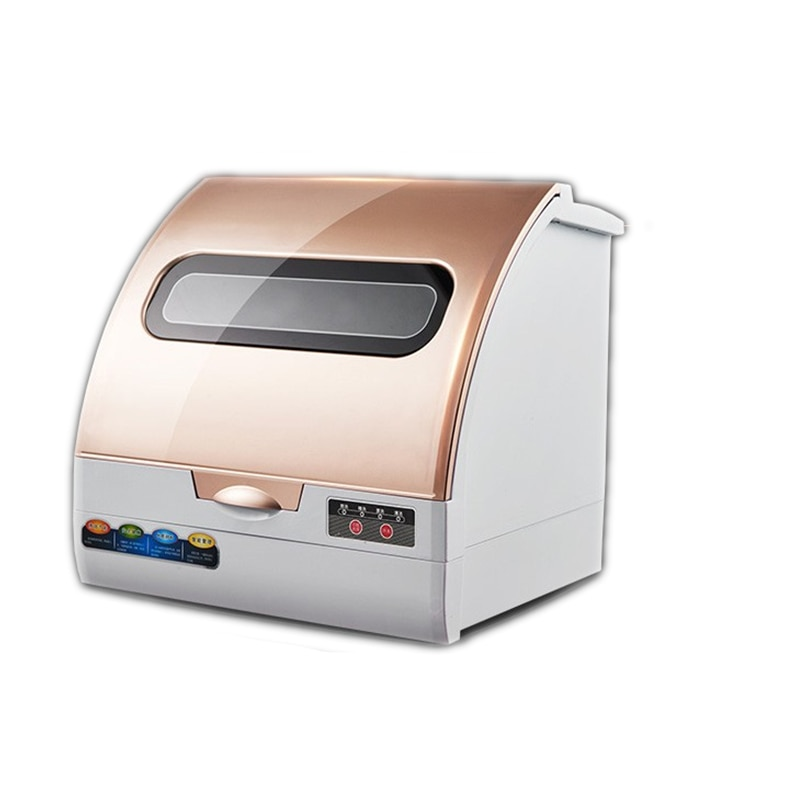 2021 Intelligent Full-automatic Dishwasher Domestic Desk Type Installation free mini air drying intelligent dishwasher