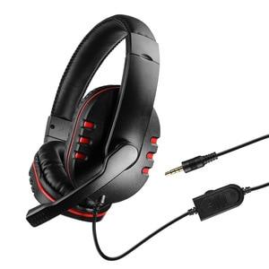 Gaming Headset Gamer For PS4/XBOX-ONE For PC Mobile Phone Computer Bass Headphones Earphones Sport Earphone Headphone Earpiece