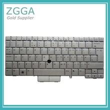 HP EliteBook 2740 2740p 새 키보드 내부 키셋 실버 용 기존 노트북 영국 레이아웃 키보드