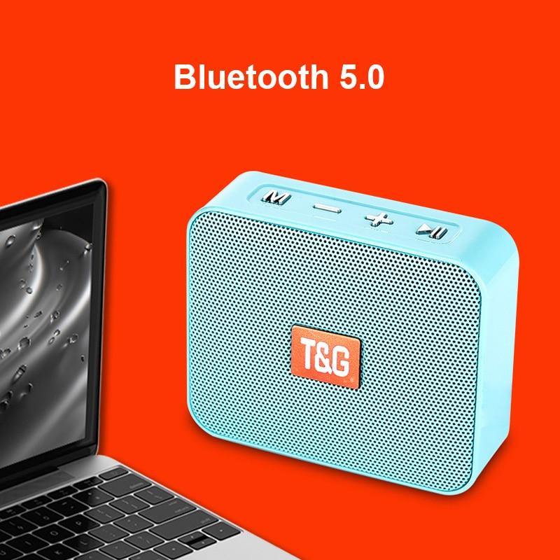 Minialtavoz Portátil con Bluetooth FM Radio parlantes inalámbricos pequeños música Radio para...