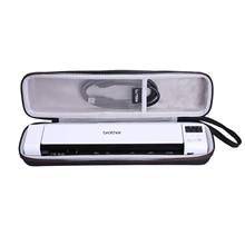 LTGEM Waterproof EVA Hard Case for Brother DS-940DN Compact Mobile Document Scanner
