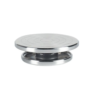 12/15cm Double Face Use Aluminum Alloy Turntable for Ceramic Clay Sculpture Platform Pottery Wheel Rotating Tools