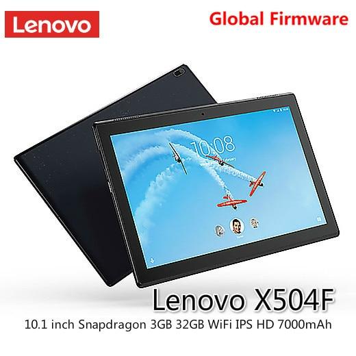 Lenovo-كمبيوتر لوحي 10.1 بوصة ، جهاز لوحي Qualcomm Snapdragon 425 ، Android 7.1 ، 3GB ، 32GB ، wi-fi ، ثنائي النطاق ، IPS ، HD ، 7000mAh