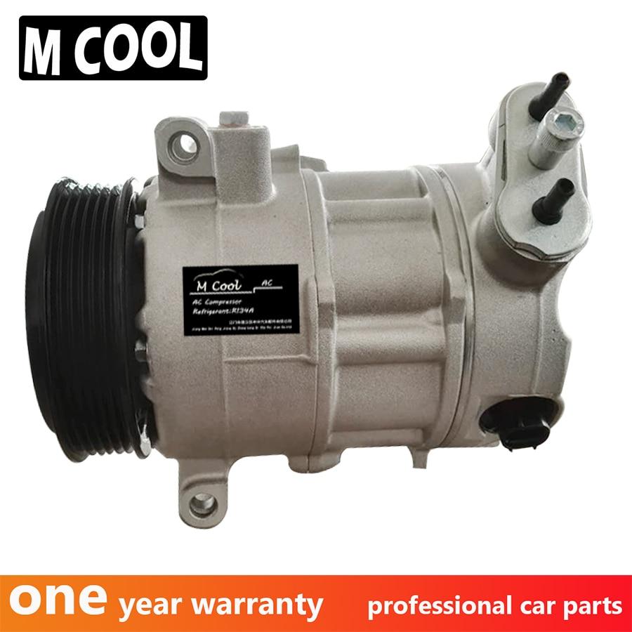 Nuevo compresor de aire acondicionado para coche Pontiac G8 3.6L V6 para coche Chevrolet compresor de aire acondicionado 92265301 92240524