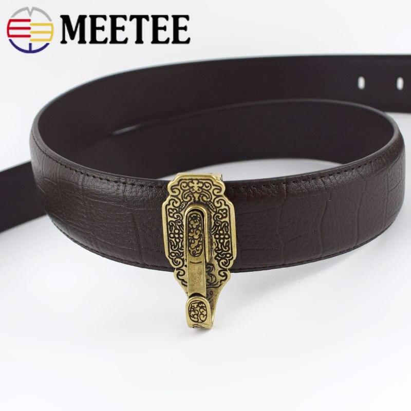 Купить с кэшбэком 1/2pcs Solid Brass Car KeyChain Buckles KeyRing Waist Wallet Belt Key Ring Hook Wallets Chain Snap Clasp DIY Leather Craft BF127
