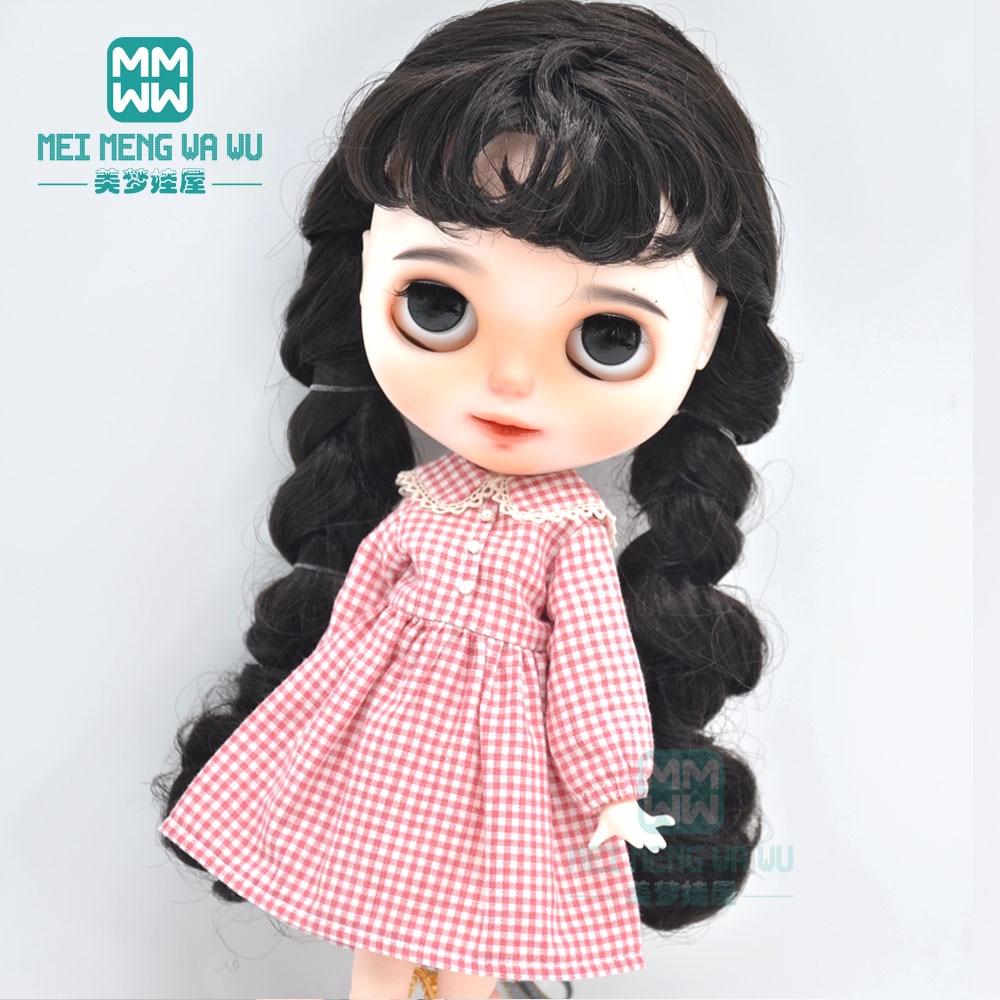 Ropa Blyth falda a cuadros Casual de moda, Princesa de encaje para 28-30cm Azone 1/6 accesorios para muñecas