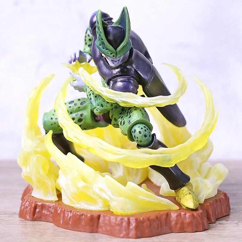 Dragon Ball Kai Super celular perfecto Ichiban Kuji D figura modelo colección juguete DBZ