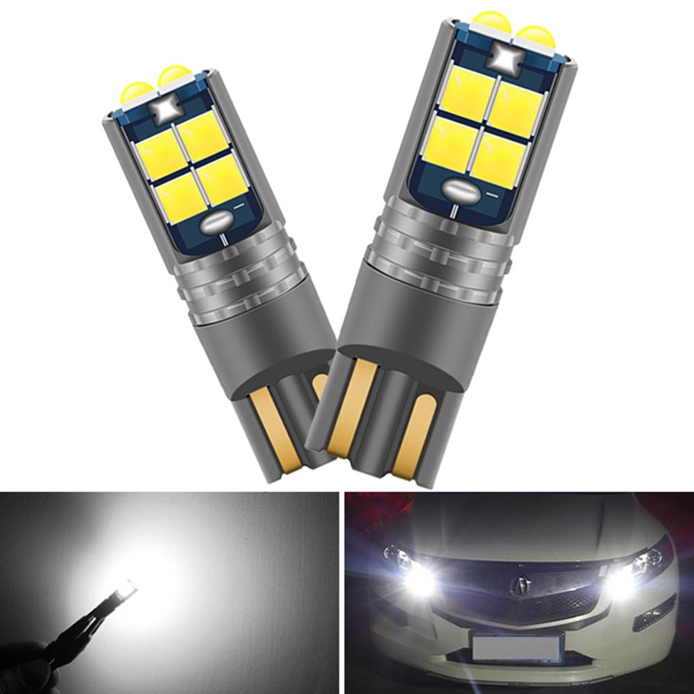 2 bombillas LED para estacionamiento CANBUS W5W T10 194 2825, faro Wedge de seguridad para automóvil, Opel Astra H J G Corsa D C Insignia Vectra B